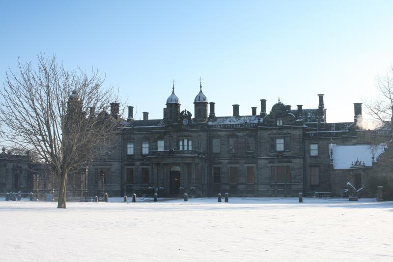 Sandon Hall In Winter Wedding Reception Venue