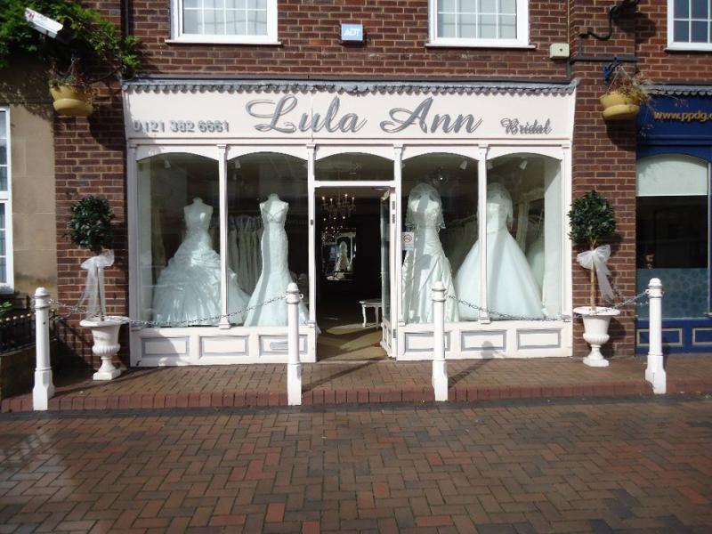 Lula Ann Bridal Wedding Dress Shops Birmingham West Midlands