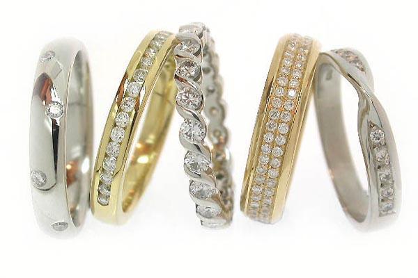 Platinum Jewellers Diamond And Gold Wedding Rings