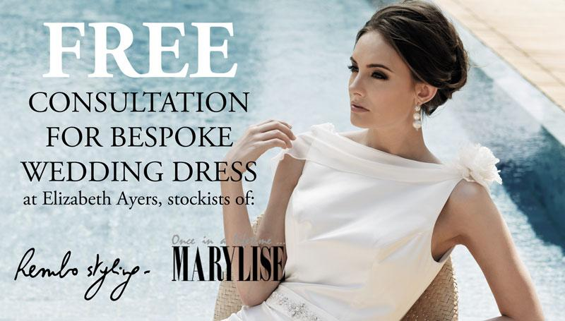 FREE Consultation For Bespoke Wedding Dress | UK Wedding