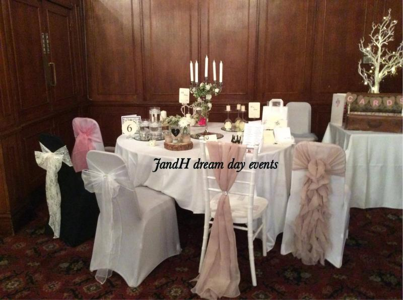 Jandh Dream Day Events Chair Covers And Sashes