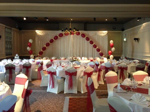 The Manor Hotel Yeovil - Decor by Elegant Touch Events