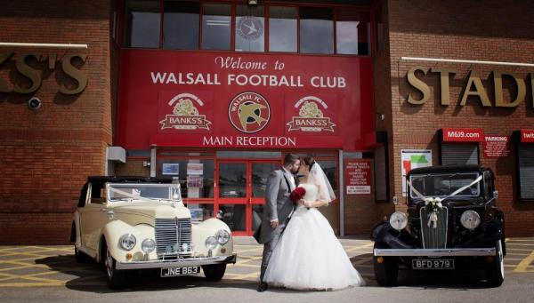 Walsall Football Club - Banks Stadium wedding fayre