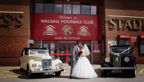 Walsall Football Club - Banks Stadium wedding fayre